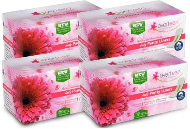 everteen 100% Natural Cotton Daily Pantyliner