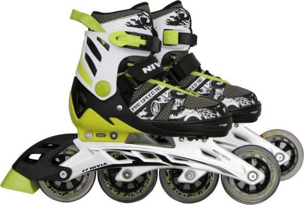 NIVIA Pro 90 (2019)-90mm HighSpeed In-line Skates - Size 7-9 UK