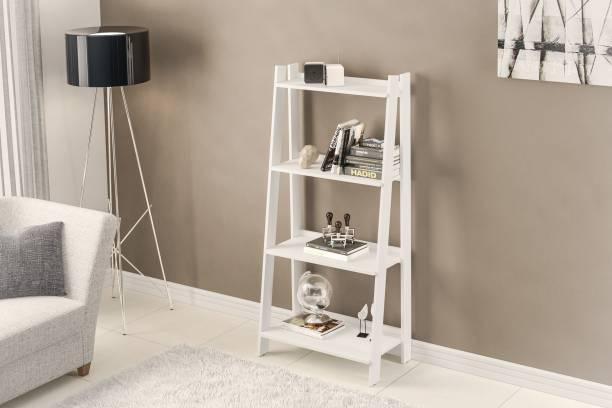 Furn Central Engineered Wood Open Book Shelf
