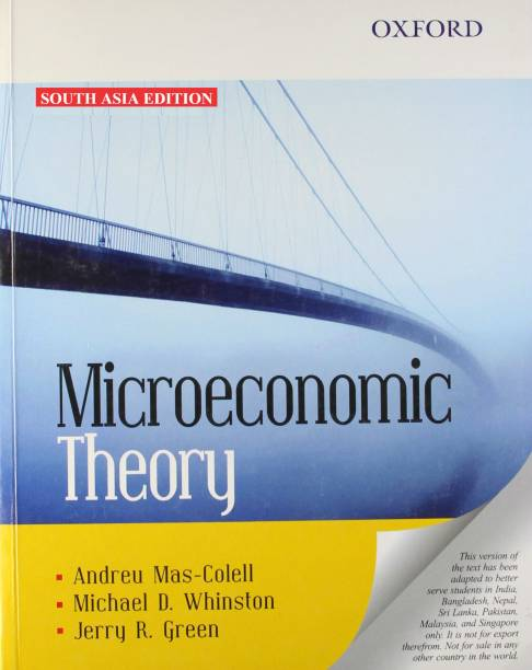 Microeconomics Theory 1st Edition