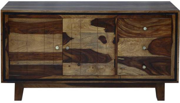Induscraft Solid Wood Free Standing Sideboard