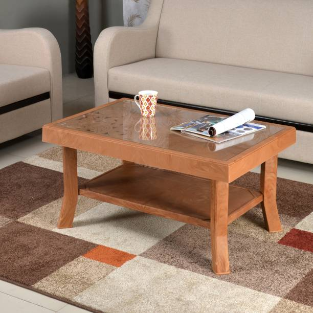 Nilkamal Centble 2 (with Glass) Glass Coffee Table