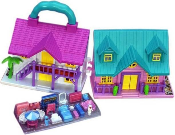 KIDZIAN Princess Doll House Set For Kids-Best Doll Sets