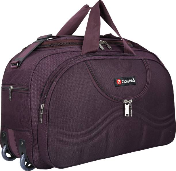 Zion Bag (Expandable) Waterproof Polyester Lightweight 40 L Luggage Travel Duffel  Bag with 2 93ea2ac06a6f3