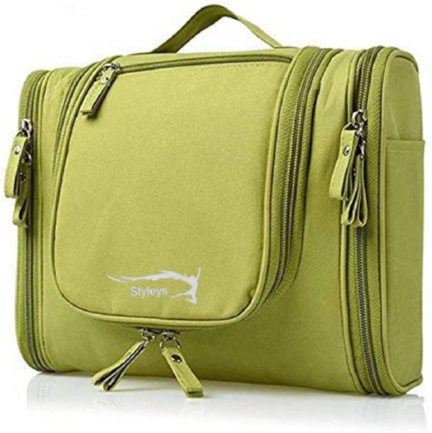 d41f0a3079cc Styleys Modern Toiletry Bag For Men Women Travel Organizer Polyester Toiletry  Kit Travel Pouch (
