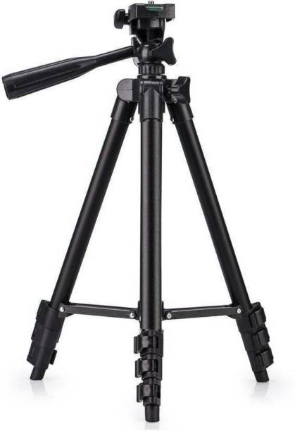 MobFest TF 3120 Black Tripod for Mobile and Camera with Mobile holder Tripod Kit