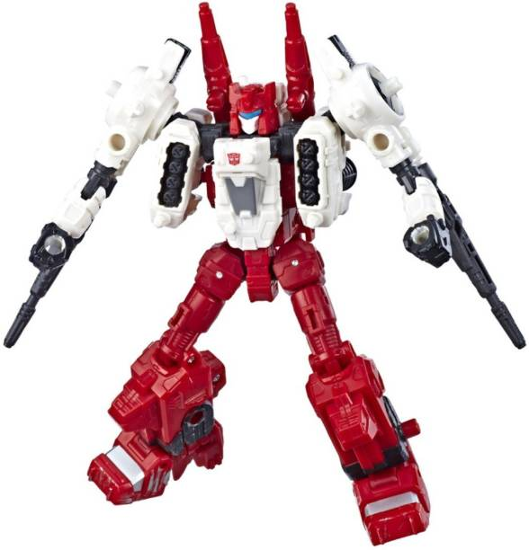 TRANSFORMERS Toys Generations War for Cybertron Deluxe WFC-S22Autobot Six-GunWeaponizerAction Figure - Siege Chapter - Adults and Kids Ages 8 and Up, 5.5-inch