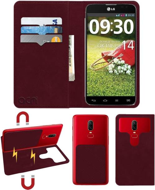 ACM Flip Cover for Lg Optimus G Pro Lite Dual