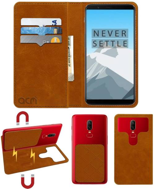 ACM Flip Cover for OnePlus 5T