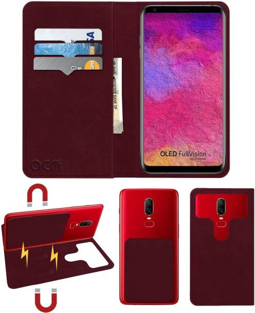 ACM Flip Cover for Lg V30 Plus H930ds
