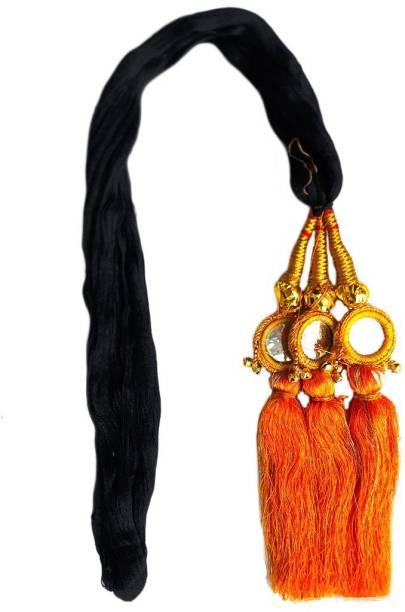 Paradise Parandi For Women And Girls Braids Extensions For Women And Girls/Hair Choti For Women Braid Extension