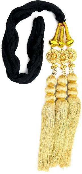 Paradise Tassles Hair Extensions For Women And Girls/Parandi Used As Braid/hair Parandi Choti Hair For Women/Big Hair Parada with Golden Pearls Braid Extension