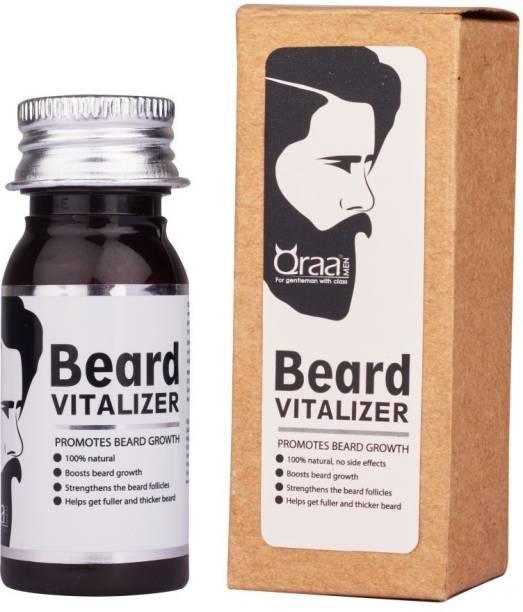 Qraa Beardvitalizer- Beard Growth Serum