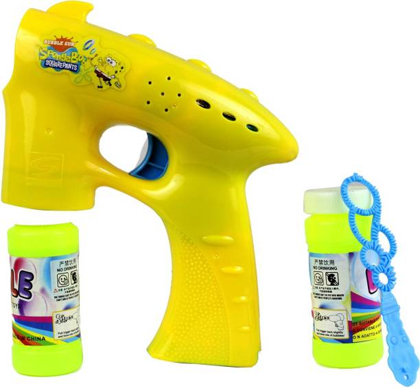 Toyswala Bubble Making Toy Gun With Bubble Bottle Toy Bubble Maker