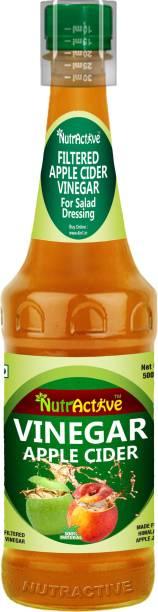 NutrActive 100 % Natural Filtered Gultan Free Apple Cider Vinegar