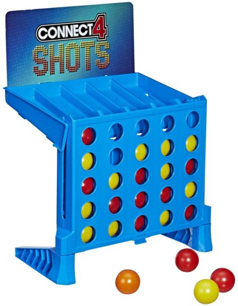 HASBRO GAMING Connect 4 Shots Game Party & Fun Games Board Game