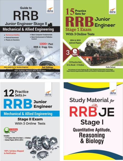 RRB Junior Engineer Study Package for Stage I & II Mechanical & Allied Engineering