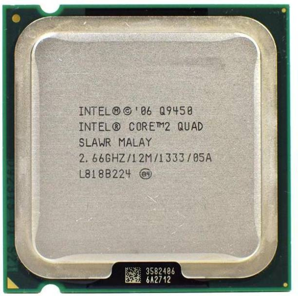 Intel Q9450 Core 2 Quad (12 MB L2 Cache) 2.66 GHz LGA 775 Socket 4 Cores Desktop Processor