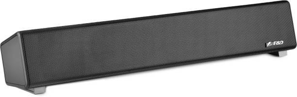 F&D E200+ 5 W Portable Bluetooth Laptop/Desktop Speaker