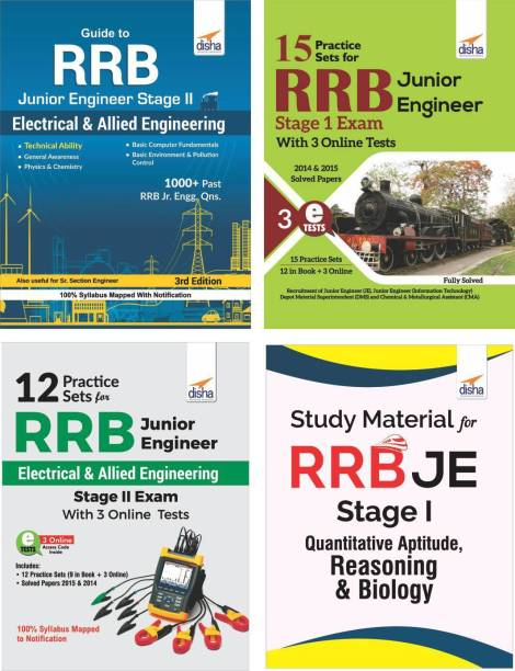 RRB Junior Engineer Study Package for Stage I & II Electrical & Allied Engineering
