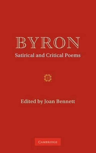Byron: Satirical and Critical Poems