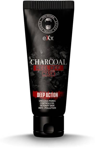 eXx Activated Charcoal Peel-Off Mask , 60gm