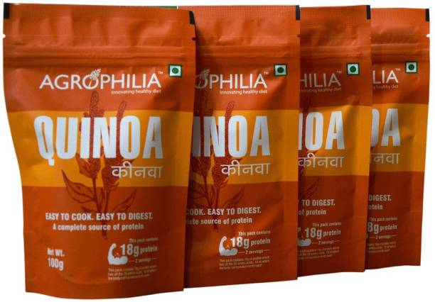 Agrophilia White Quinoa 100 g (Pack of 4) Quinoa