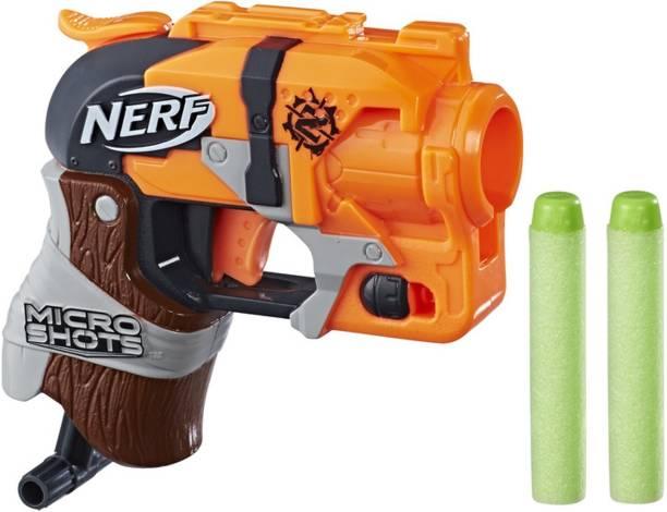 Nerf MicroShots Zombie Strike Hammershot Guns & Darts