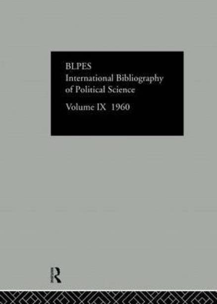 IBSS: Political Science: 1960 Volume 9