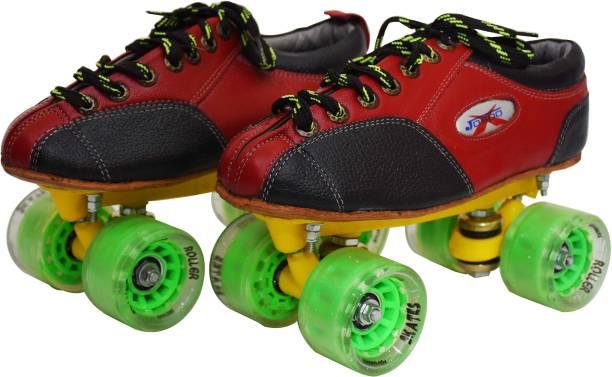 Jaspo pro-10 Quad Shoe Skates(size-6) Quad Roller Skates - Size 6 UK