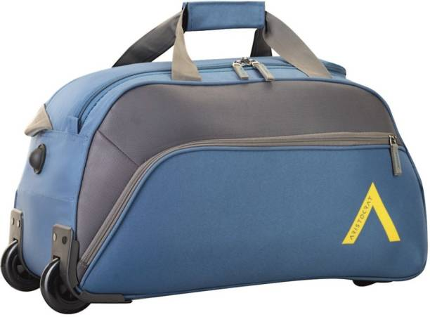 Aristocrat 21 inch 55 cm VOLT NXT DFT 55 TEAL Duffel Strolley Bag 6b109b73b12e6