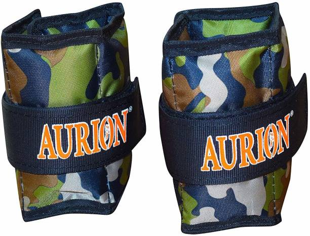 Aurion AW- 2 Kg X 2 Green Ankle & Wrist Weight
