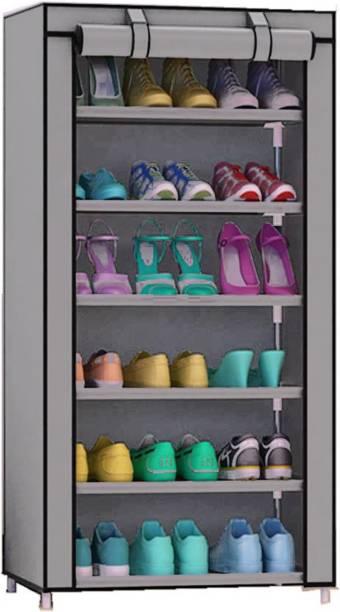 Sasimo Metal Collapsible Shoe Stand Metal Shoe Stand