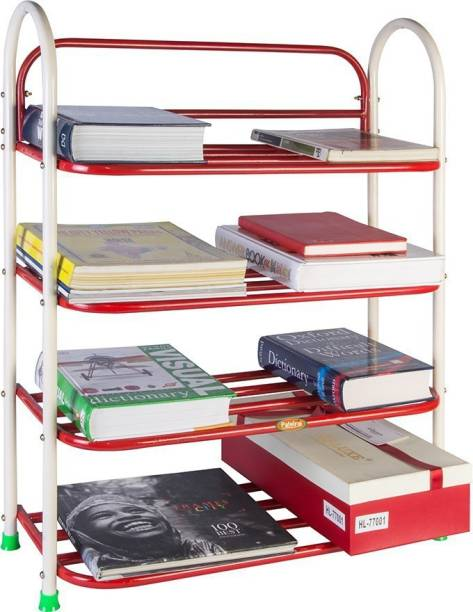 Patelraj Book Shelf 4 Step Metal Shoe Stand