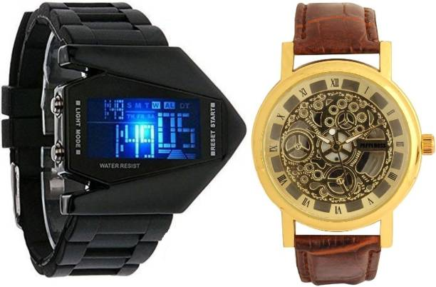 Pappi Boss Analog-Digital Watch  - For Boys