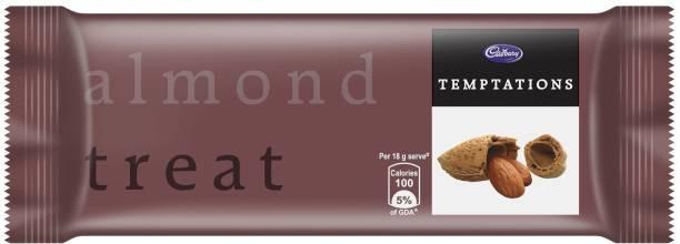 Cadbury Temptation Almond Treat Chocolate, 72g (Pack of 6) Bars