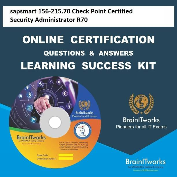 SAPSMART 156-215.70 Check Point Certified Security Administrator R70 Online Certification Video Learning Success Kit