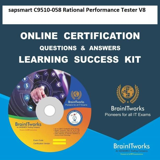 SAPSMART C9510-058 Rational Performance Tester V8Certification Online Learning Made Easy