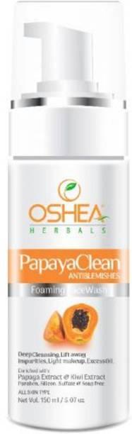 Oshea Herbals Papayaclean Anti Blemish Foaming Facewash Face Wash