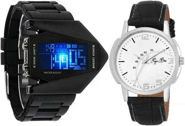 Pappi Boss Analog-Digital Watch  - For Men