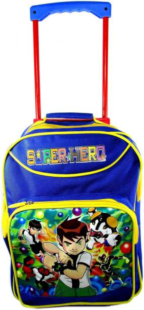 ehuntz Ben10 sturdy Trolley/Travel Bag school Bag/Gift bag (4 to 12 years) (EH1522) Waterproof Trolley