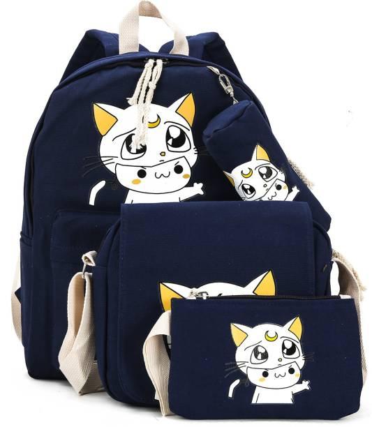 Tinytot SB040 School Backpack College Bag Travel Bag Waterproof School Bag