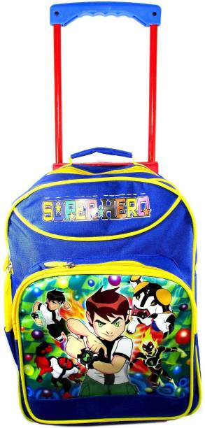 ehuntz Ben10 sturdy Trolley/Travel Bag school Bag/Gift bag (4 to 12 years) (EH1524) Waterproof Trolley