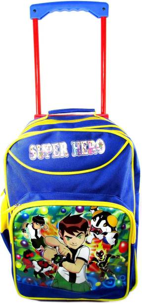ehuntz Ben10 sturdy Trolley/Travel Bag school Bag/Gift bag (4 to 12 years) (EH1521) Waterproof Trolley