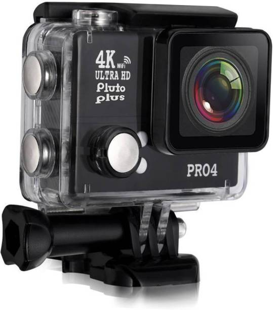SpadeAces 4K CAMERA Ultra HD Action Camera 4K Video Recording 1920x1080p 60fps Go Pro Style Action camera With Wifi 16 Megapixels Sports and Action Camera Sports and Action Camera