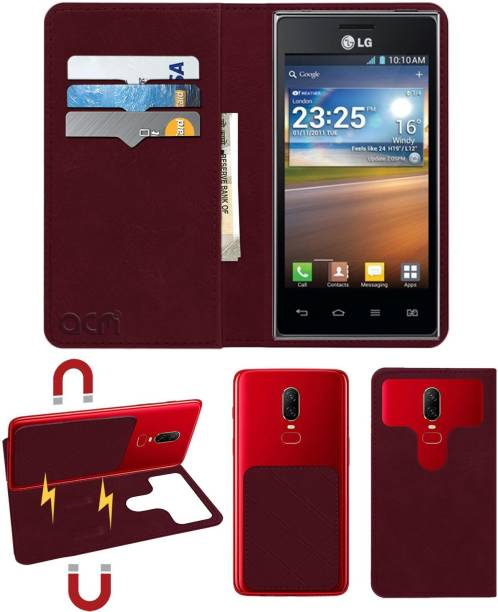 ACM Flip Cover for Lg Optimus L5 Dual E615