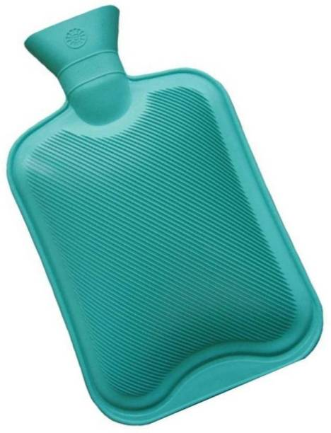 MEZIRE Non Electric Hot Water Bottle For Muscles and Joint Pain RUBBER HOT WATER BAG 1 L Hot Water Bag Non Electric Water Bag 1 L Hot Water Bag
