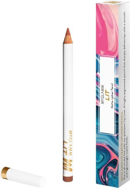 myglamm LIT Matte Lipliner Pencil - Spoilt