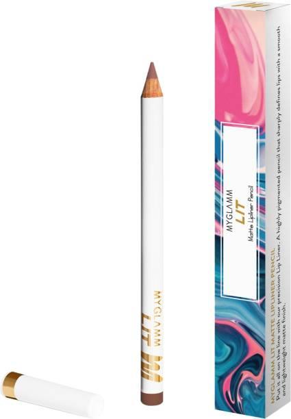 myglamm LIT Matte Lipliner Pencil - Pretty Mess
