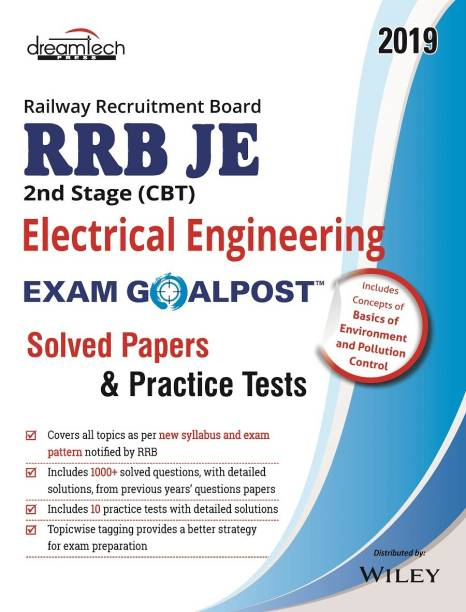 Rrb Je 2nd Stage (CBT) Electrical Engineering Exam Goalpost Solved Papers & Practice Test, 2019 - Solved Papers and Practice Tests 2019 1 Edition
